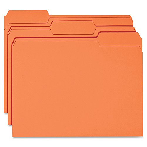 Pt 1 Ply 1/3 Cut - Business Source 1-ply Tab Colored File Folder