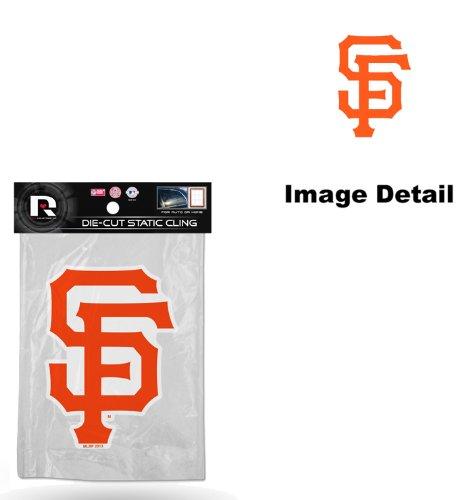 - San Francisco Giants MLB Team Logo Car Truck SUV Home Office School Window Die Cut Static Cling Decal Sticker