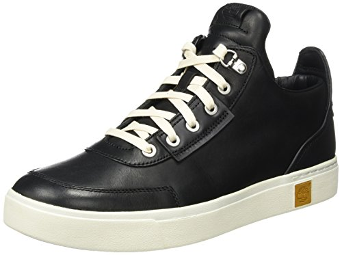 Timberland Amherst High Top Chu Black, Sneaker Alte Uomo nero