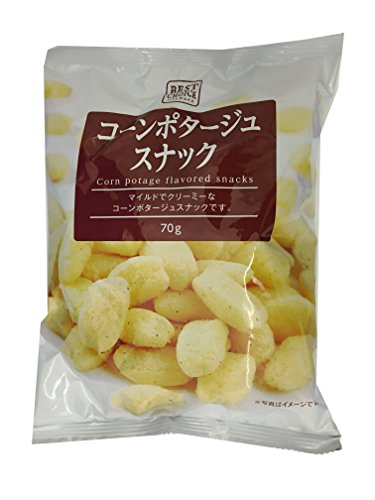 Cleat Best Choice corn potage snack 70gX12 bags