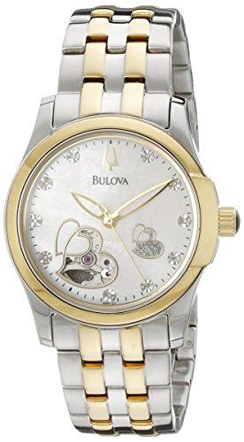 Bulova Women's 98P123 BVA Series Heart Aperture Dial Watch ()