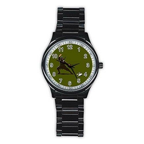 Fighting Ninja Assasin MAS062 New Fashion Men's Wrist Watches Stainless Steel