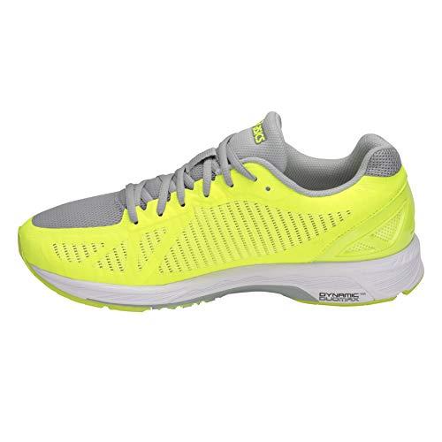 Zapatillas blanc Gel fluo Running DS jaune de Trainer gris Hombre Asics clair para 23 wpOdIOq