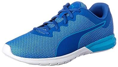 PUMA Men's Driver, True Blue-Blue Danube,14 Running Shoes