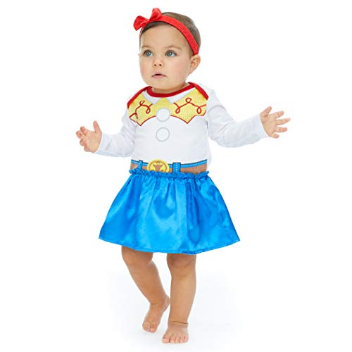 Disney Toy Story Jessie Baby Girls Costume Onesie Dress & Headband 6-9 Months (Big Baby Toy Story)