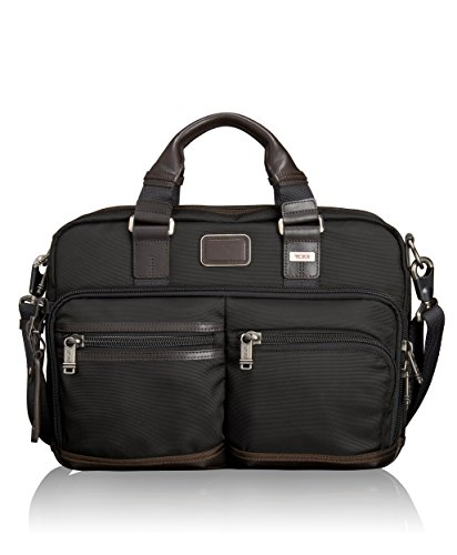 Tumi Alpha Bravo Andersen Slim Commuter Brief, Hickory, One Size by Tumi