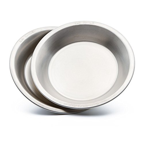 Camping-Plates-Camping-Bowls-Kelly-Kettle-Stainless-Steel-packable-Camping-Plates-Set-of-2-Packable-Plates-Bowls-These-Kelly-Kettle-Plates-Bowls-are-775-inches-in-Diameter-and-1-inch-Deep