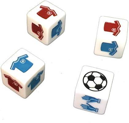 WeebleGames Dados de Fútbol - Juega un Partido de Fútbol con Dados: Amazon.es: Juguetes y juegos
