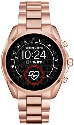 Michael Kors Access Gen 5 Bradshaw Smartwatch, Powered with Wear OS by means of Google with Speaker, Heart Rate, GPS, NFC, and Smartphone Notifications