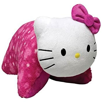 Amazon.com: Pillow Pets Dream Lite Hello Kitty Plush: Toys ...