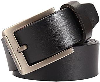 Men Automatic Buckle Leather Belt Business Belt Mens Strap Luxury Cummerbund