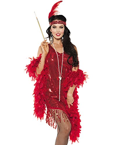 Women's Sequin Flapper Costume - Swingin (Bonnie & Clyde Costumes)