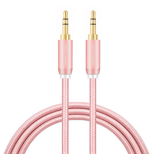 - 3.5mm Aux Cable, CableCreation 3.5mm Male to Male Stereo Auxillary Audio Cables, Compatible with Headphones, Smartphones, Home/Car Stereos & More, 3-Feet/ 0.9M