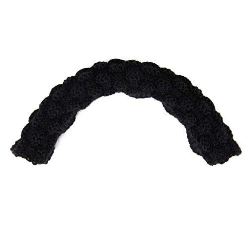 Hand Woven Pure Wool - Hand Woven Pure Wool Washable Headband Cushion for AKG K701 K702 Q701 Headphones - Black
