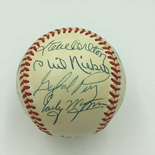Tom Seaver Whitey Ford Bob Gibson Pitching Legends Signed Baseball 13 Sigs - PSA/DNA Certified - Autographed Baseballs