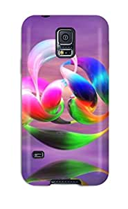 Awesome Moving Desktop S Flip Case With Fashion Design For Galaxy S5