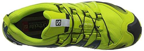 Salomon XA Pro 3D Gtx, Zapatillas de Trail Running para Hombre Verde (Lime Punch./Black/Reflecting Pond)