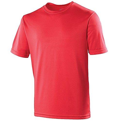 Cool Feu Just T Uni Rouge shirt Performance Homme dCOnzwqC
