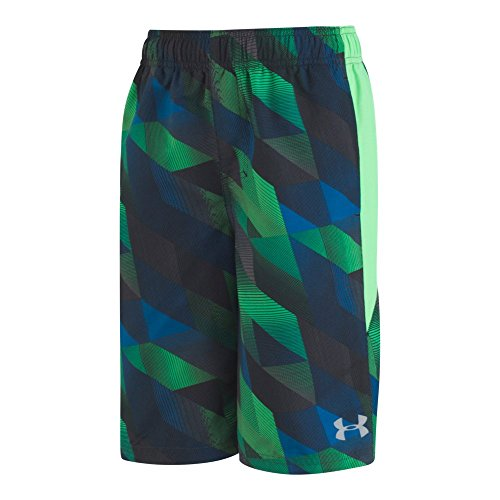 Under Armour Electric Fieled Volley Toddler Boys' Swim Shorts, Arena Green, 3T