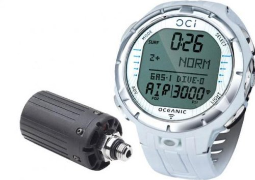 - Oceanic OCi Wireless Dive Watch Computer White