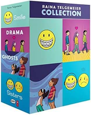 The Raina Telgemeier Collection (A Box Set)