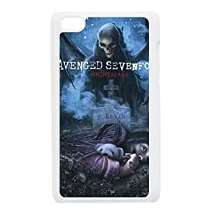 iPod Touch 4 Case White Avenged Sevenfold 002 SYj_729541