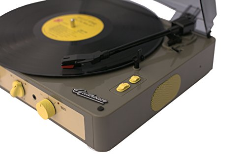 Gadhouse Brad Vintage Record Player 3 Speed Turntable