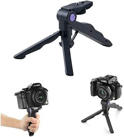 Mini Camera Tripod Photo Mobile Cell Phone Hand Hold Table Desk Stand for Nikon Canon Sony Samsung etc