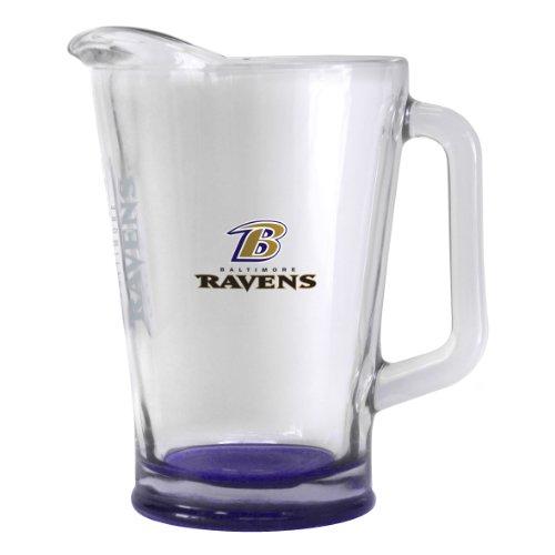 Boelter Brands NFL Baltimore Ravens Elite Pitcher, 60-Ounce