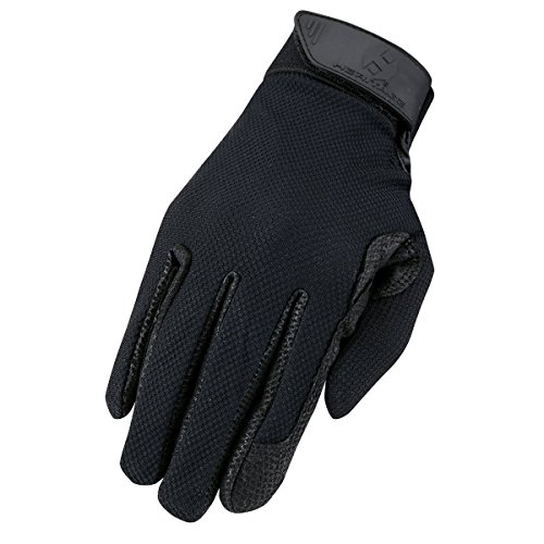 Heritage Pro-Fit Show Gloves, Size 7, Black (Pro Gloves Leather Show)