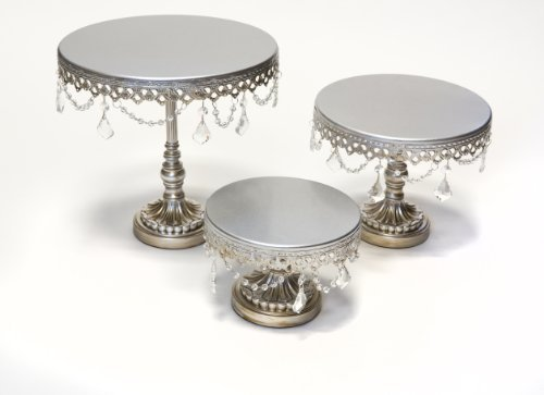 Cake Stand With Crystal Accents