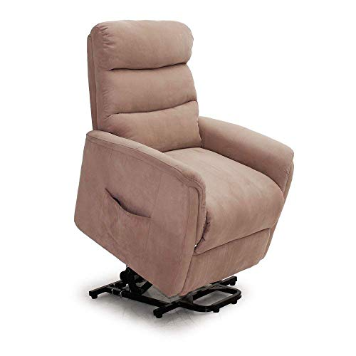 Lifesmart L6115F51-Mocha Calla Casa Ultra Comfort Heat, Remote in Mocha Massage Lift Chair Recliner ()