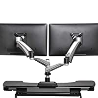 VARIDESK - Monitor Arm - Full-Motion Spring Dual - Monitor Arm