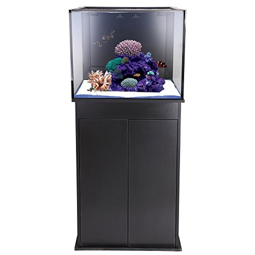 Innovative Marine Innovative Marine Nuvo Fusion Mini 40 Gallon Aquarium, Clear, Glass Aquariums