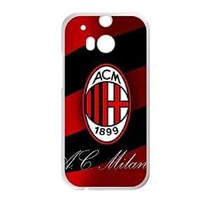 HTC One M8 Cell Phone Case White AC Milan Football hixa