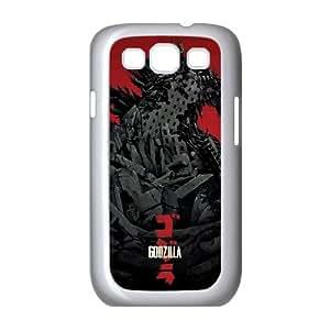 Godzilla Movie Samsung Galaxy S3 9300 Cell Phone Case White phone component RT_397146