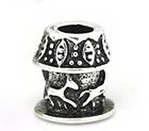 Beads Hut - Carousel Merry Go Round Carnival Horse Bead for Silver European Charm Bracelets - Carnival Tuxedo Collection