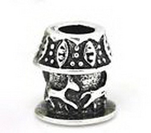 Beads Hut - Carousel Merry Go Round Carnival Horse Bead for Silver European Charm Bracelets (Carnival Games Centerpiece)