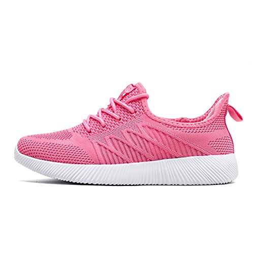 TORISKY Men's Women's Mesh Trainers Sports Running Casual Athletic Shoes Lightweight Walking Fitness Sneaker 35-45 Pink 100% authentic online free shipping for nice buy cheap the cheapest discount for nice qXsrml