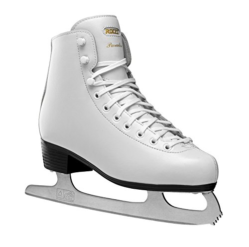 Roces 450635 Ice Skating Figure Skates, White, 8 U/39 EU
