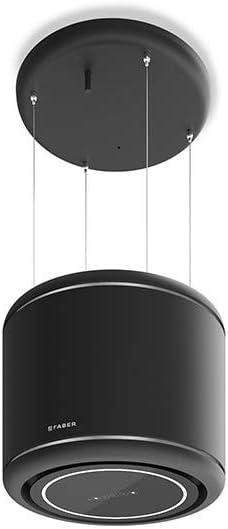 Faber ODETTE - Campana extractora (50 cm), color negro mate: Amazon.es: Grandes electrodomésticos