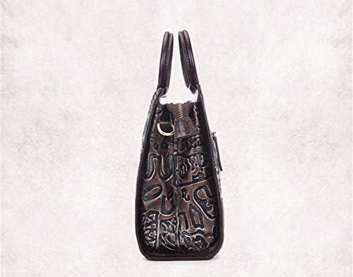 wangjian& Sac à bandoulière en Forme de Sac à Main en Forme de Sac à bandoulière en Diagonale, 24x22x14cm