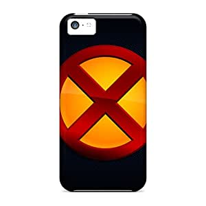 New Fashionable EmptySpiral Cover Case Specially Made For Iphone 5c(x Men Classic Logo)