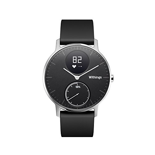 Withings HWA03_12 Activite Steel Hr Black (36mm) Activite Steel Hr (36mm),