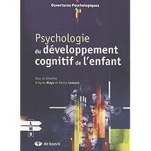 Psychologie dev.cognit.enfant ouvertures psycho.