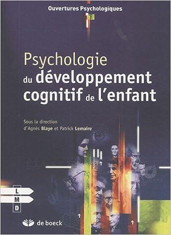 Psychologie du développement cognitif de l'enfant