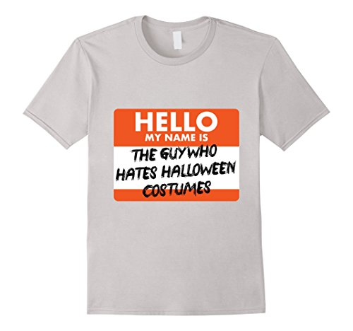 Mens The Guy Who Hates Halloween Costumes T-Shirt XL (Hates Halloween)