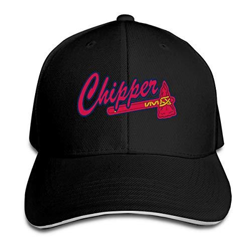 Moore Me Adjustable Baseball Cap Navy Atlanta Chipper Logo Cool Snapback Hats (Biography Chipper Jones)