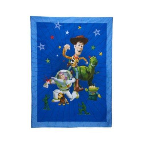amazoncom disney toy story 4 piece toddler bedding set baby - Toy Story Toddler Sheets