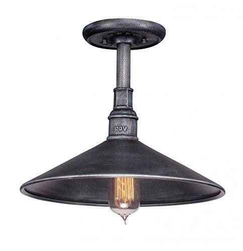 Troy Metal Chandelier (Troy Lighting F2774 One Light Pendant 6.75